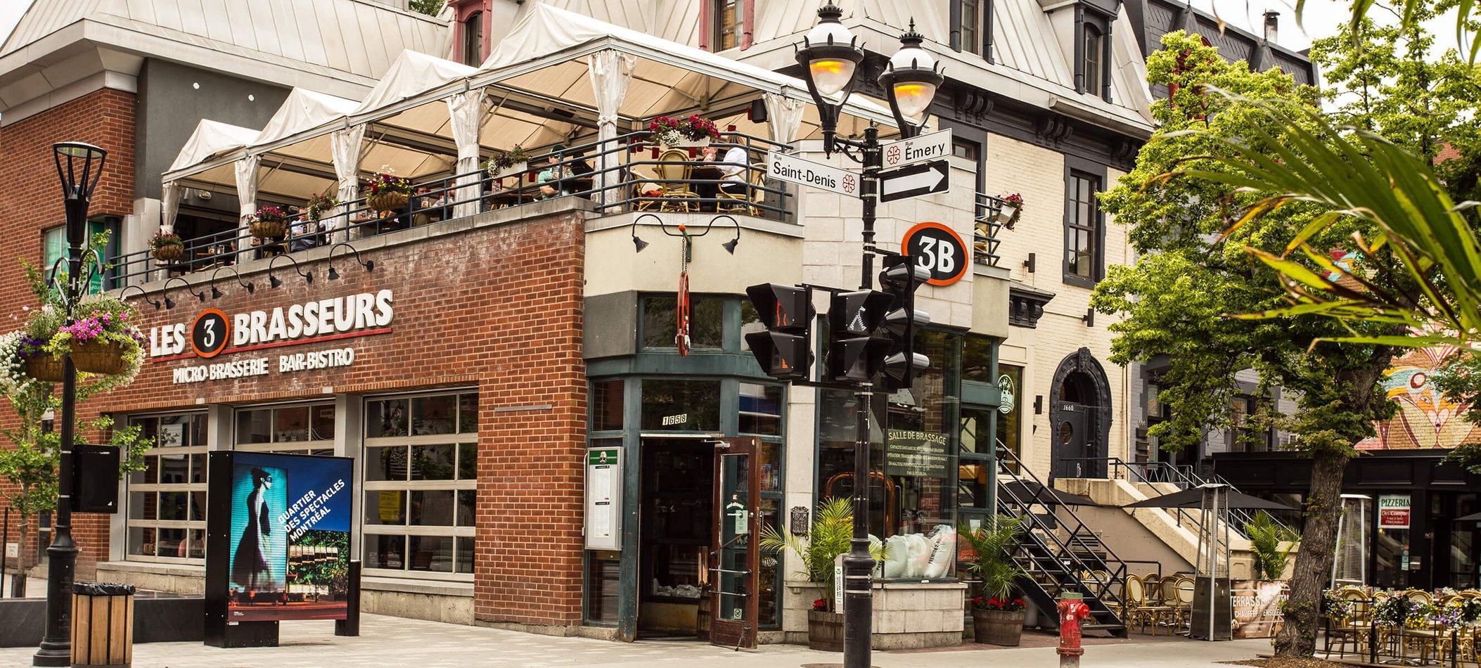 Microbrewery Restaurant Saint Denis 3 Brasseurs